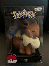 NEW Toys R Us Exclusive Pokemon Tomy Eevee Plush Stuffed Animal