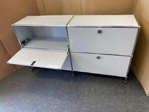 USM Haller Modular Sideboard Storage Element Light Grey