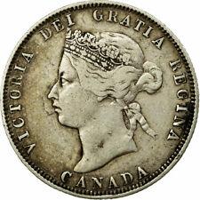 [#653828] Monnaie, Canada, Victoria, 25 Cents, 1872, TB+, Argent, KM:5