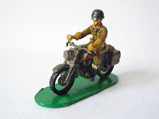 B&M MINIATURES MODELS ARMY DESPATCH RIDER EXCELLENT (BS1242)