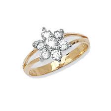 Ringe mit Edelsteinen im Siegelring-Stil aus Gelbgold