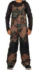 686 Garçons Cornice Bavoir Pantalon (M) Armée Cubiste Camouflage