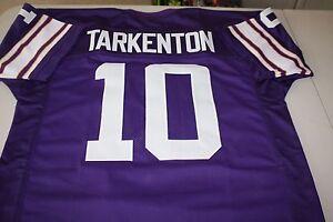 FRAN TARKENTON #10 QB SEWN STITCHED HOME JERSEY SIZE XLG NFC CHAMPION