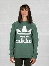 Adidas Oversized Felpa Donna Verde 40 Eu/46 IT Sport 4059807189070