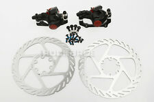 AVID MTB BB5 Mechanical Disc Brake Front and Rear & G2 160mm Rotor