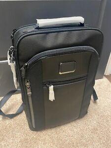 Tumi Alpha Bravo Davis Backpack Black Brand New