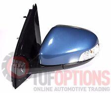 Ford FG & FGX Falcon LH Door Mirror Temp & Blinker AERO BLUE 05/08-10/16