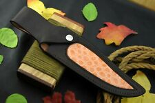 Custom Made 100 % Original Leather Sheath For 10-14 Inch Knives Handmade(S220-G)