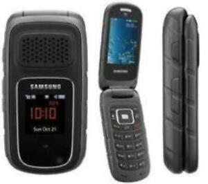 "Refurbished Samsung Rugby III SGH A997 Unlocked 3G 3MP gray 2.2"" Flip Phone"