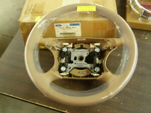 NOS OEM Ford 1994 1998 Mustang Leather Wrap Steering Wheel 1995 1996 1997 Cobra