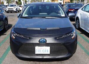 Colgan Front End Mask Bra 2pc.Fits Toyota Corolla 2020-2021 L LE & XLE W/License
