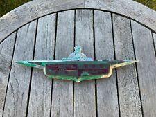 Original 1946 1947 1948 DeSoto Trunk Emblem - Vintage OEM