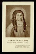 santino-holy card*S.LUISA DE MARILLAC