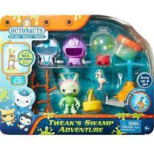 Octonauts DGD55 Tweak's Swamp Adventure Playset Toy Figure & Accessories