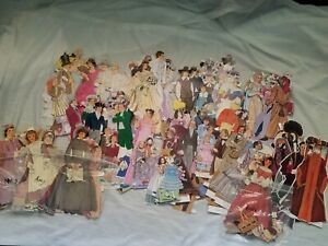 Deluxe Victorian Paper Doll Set by MJ Studios Nickel Press 1995