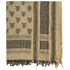 Mil-Tec Shemagh Scarf Skull Outdoor Bandana Hiking Headscarf Coyote / Black