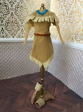 Winter Wardrobe Pocahontas Buckskin Disney Doll Barbie Native American Boots