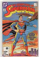Adventures of Superman #424 premiere issue Marv Wolfman Jerry Ordway 9.4
