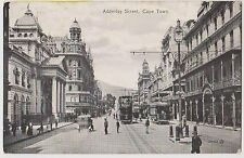 (LK218) 1940 GB postcard Cape Town main street (B)