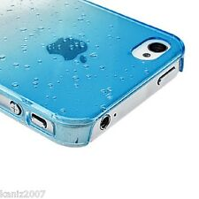 3D water drop/ rain drop transparent Hard Clear Cover Case for iPhone 5/5s