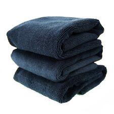 """Chemical Guys MIC_805_1 Monster Edgeless Microfiber Towel,16""""x16"""",Black (3 Pack)"""