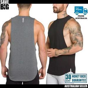 Men's gym top sportswear singlet VSRA size M L XL quality stylish RRP$59