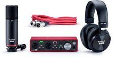 More details for focusrite scarlett 2i2 studio 3rd generation usb audio interface recording set