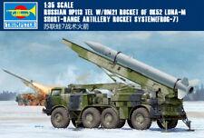 Trumpeter 1/35 01025 Russian 9P113 TEL w/9M21 Rocket of 9K52 Luna-M