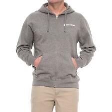 Redington Fly Fishing Old School Hoodie Hooded Sweatshirt Full Zip Gunmetal (L)