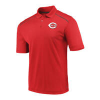 Cincinnati Reds Men's Red Golf Polo- New With Tags! - FREE SHIPPING!