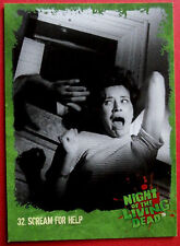 NIGHT OF THE LIVING DEAD - 1968 film - Card #32 - Scream For Help