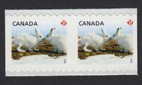 UNCUT BETWEEN PAIR = SCARCE = Canada 2011 #2426iv MNH