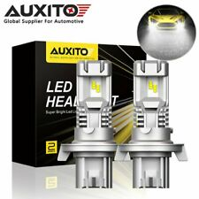 2X AUXITO H13 9008 LED Headlight Bulb High Low Beam 12000LM 6000K Super Bright