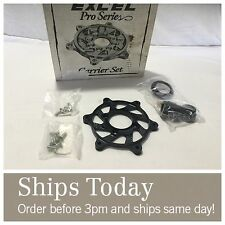 Excel Black Front Rotor Attachment Kit 2FC-4071 Yamaha YZ 125 250 250F 250X 450F
