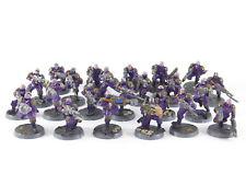 23 x híbrido Neophyte la Squad genestealers Cult/Warhammer 40k-bien pintado -