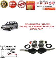 NISSAN MICRA K11 MK2 1992-2003 2 DOOR BARELL LOCK + 2 KEYS SET BRAND NEW