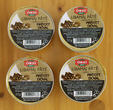 Goose Liver Pate with Roasted Walnuts 35% Foie Gras content 4 x 50g/4 x 1.8oz