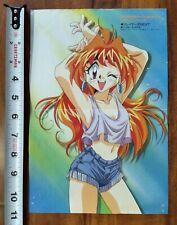 Slayers Next Lina Inverse Vintage Pin-Up Poster Anime Manga Japan Rare Unused