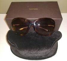 AUTHENTIC TOM FORD JENNIFER TF8 / 52F SUNGLASSES with case and box