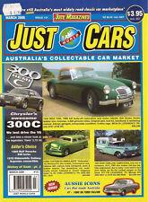 Just Cars Mar 06 XK Falcon Oldsmobile Cutlas RUF 930 Porsche Turbo Chrysler 300C