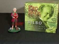 BRITAINS 40452 LORD OF THE RINGS FILM MOVIE BILBO METAL CHARACTER FIGURE