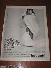 AH25=1963=BASSETTI =PUBBLICITA'=ADVERTISING=WERBUNG=