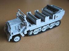 Lego WW2 GERMAN Vehicle HALFTRACK Sd. Kfz. 7 Tank NEW Artillery NO MINIFIGS