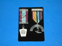 Masonic Regalia - Soft Jewel Pad/ Pocket Holder - FREE POSTAGE
