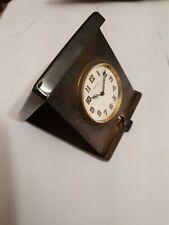 8 JOURS seltene große 8 TAGE Uhr Silber 900 Etui um 1900 !!!!
