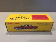 Dinky Toys Atlas Edition 552 Chevrolet Corvair Boxed Excellent Condition