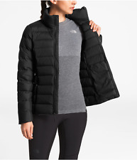 BNWTS The North Face Women s Quilted Stretch Down JKT Sz Large TNF Black a5028b255