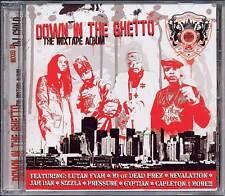 Down In The Ghetto -RARE CD! -Reggae/Hip-Hop-SEALED-NEW Sizzla, Dead Prez etc.