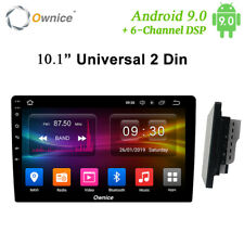"2 DIN 10.1"" Android 9 Car Stereo Bluetooth GPS Wifi Display Head Unit DSP Radio"