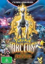 Pokemon: Arceus and the Jewel Of Life NEW R4 DVD